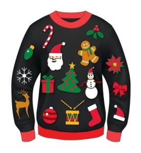 If you buy me this damn sweater, I swear before God there's going to be some furniture moving.