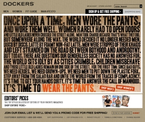dockers-real-man-manifesto