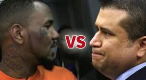 I wonder if Game is going to bite Zimmerman's ear??