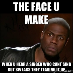 This is my face whenever I listen to the radio.