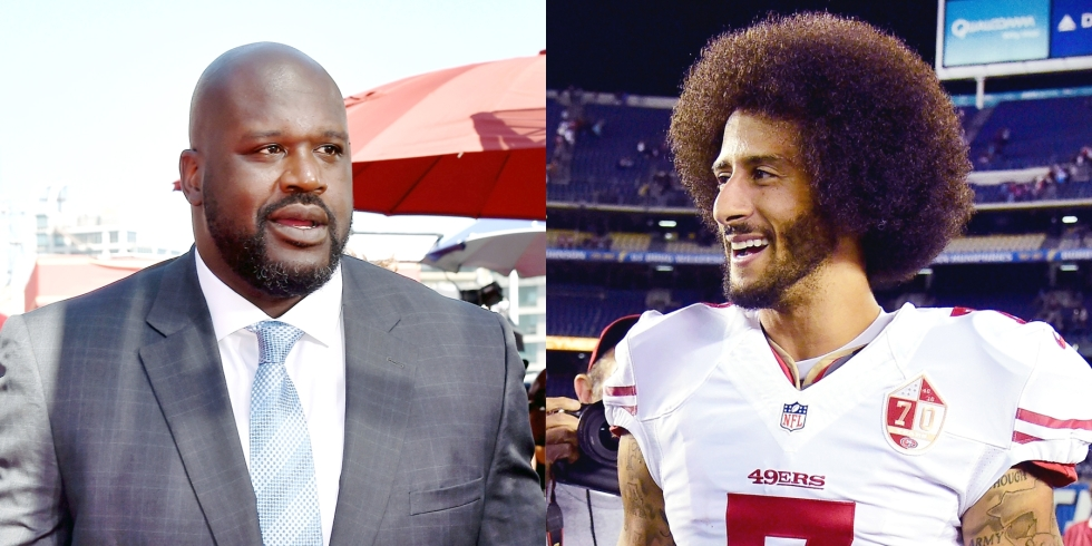 090816-sports-shaquille-oneal-colin-kaepernick